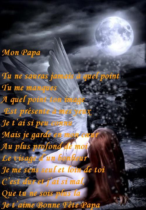 Populaire Top du Meilleur: Poème D'Amour Pour papa Décédé LZ62