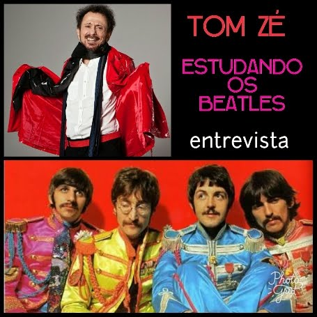 Tom Zé estudando os Beatles