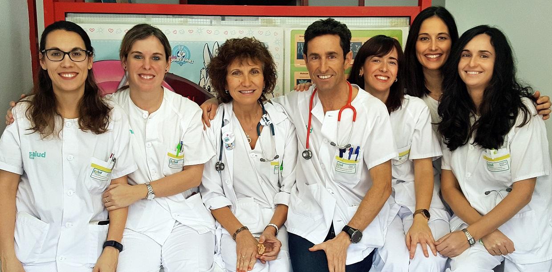 EQUIPO DE PEDIATRÍA DEL HOSPITAL SAN JORGE DE HUESCA