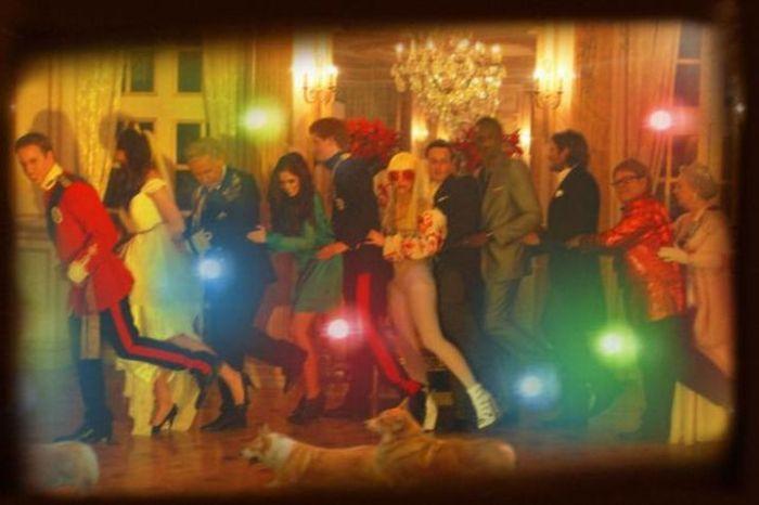 Fake Royal Wedding party pics