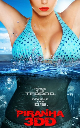 Piranha 3DD (2012) Hindi Dubbed 720p Full Movie Watch Online Free