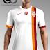 Galatasaray Beyaz Tek Şerit Tasarım