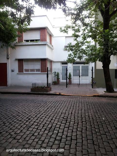 Residencia urbana estilo Racionalista en Buenos Aires