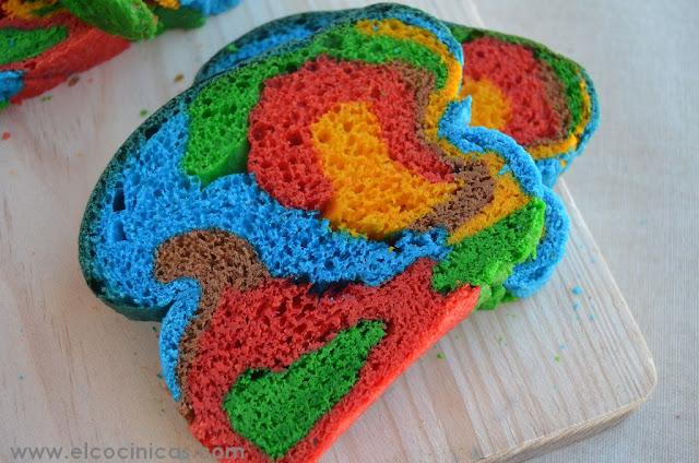Pan de colores