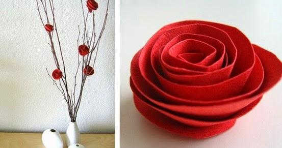 Cara Membuat Kerajinan Tangan Mawar Hias dari kertas bekas - Blognya ...