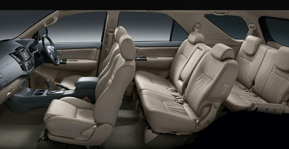 Fortuner VN Turbo interior Greige | VNT Toyota | Toyota Fortuner