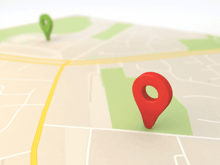 Use o Google Maps como GPS