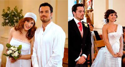 Marina Lozano, Octavi Pujades, Daniela Costa, bodas en la serie de Antena 3 Lalola