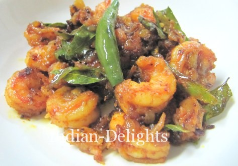 Prawns Chili Fry