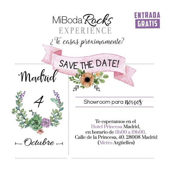 Mi Boda Rocks Experience showroom nupcial 4 octubre 2015 Madrid