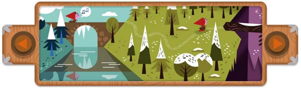Google Doodle : The Brothers Grimm