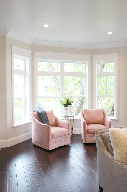 Home tour: Sitting area paint color