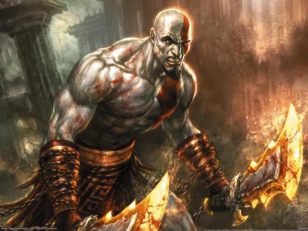 Wallpaper kratos wallpaper papeis de parede - God of war wallpaper hd 3d ...