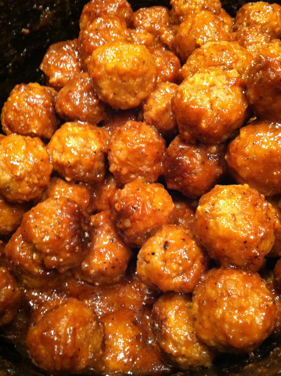 bbq meatballs crockpot