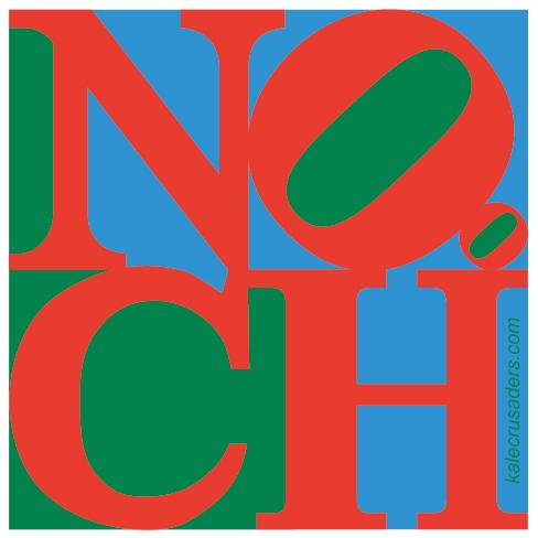 NOOCH Love, Nutritional Yeast Love, Philadelphia LOVE sculpture parody, Robert Indiana, NOochVEMBER, NOOCHvember, #NOOCHvember, Nutritional Yeast November, Nooch November