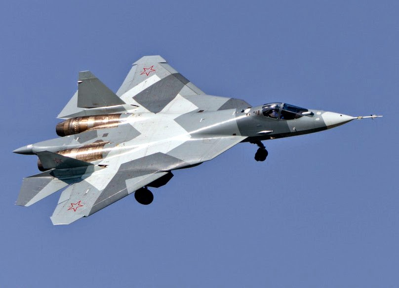 Russian T-50 PAK FA Fighter