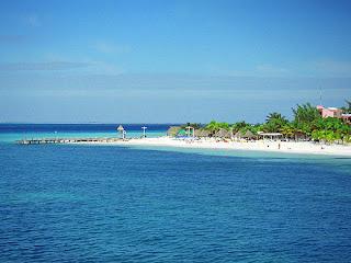 Strand auf der Isla Mujeres