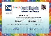 Certificado Decoração Balões