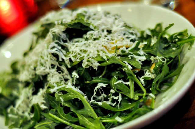 Wild Arugula Ricotta Salata - Craftbar - New York, NY | Taste As You Go