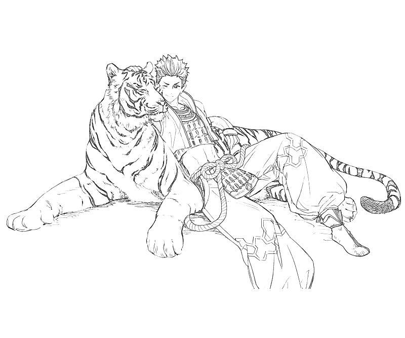 printable-ieyasu-tokugawa-lion-coloring-pages