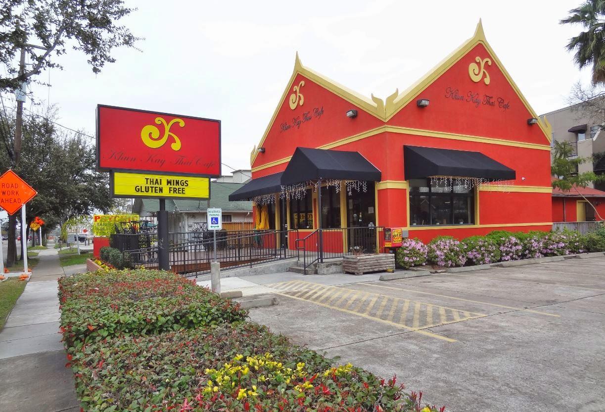 Khun Kay Thai Cafe  Montrose Blvd Houston Tx