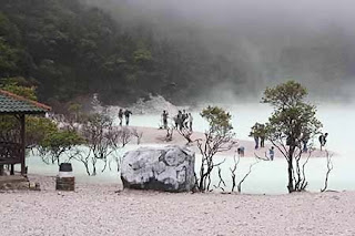 Nature Tourism Kawah Putih Ciwidey Bandung