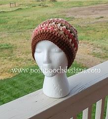 Crochet Summer Beanie