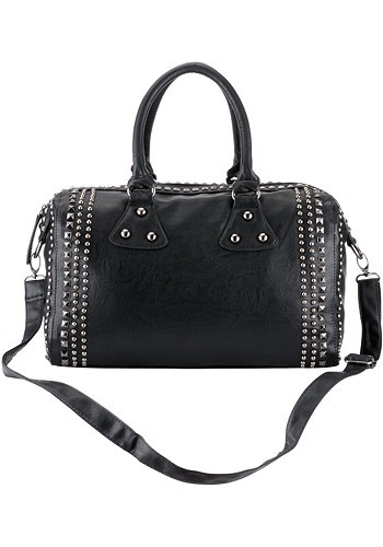 Celebrity Style Boston Studded Bag