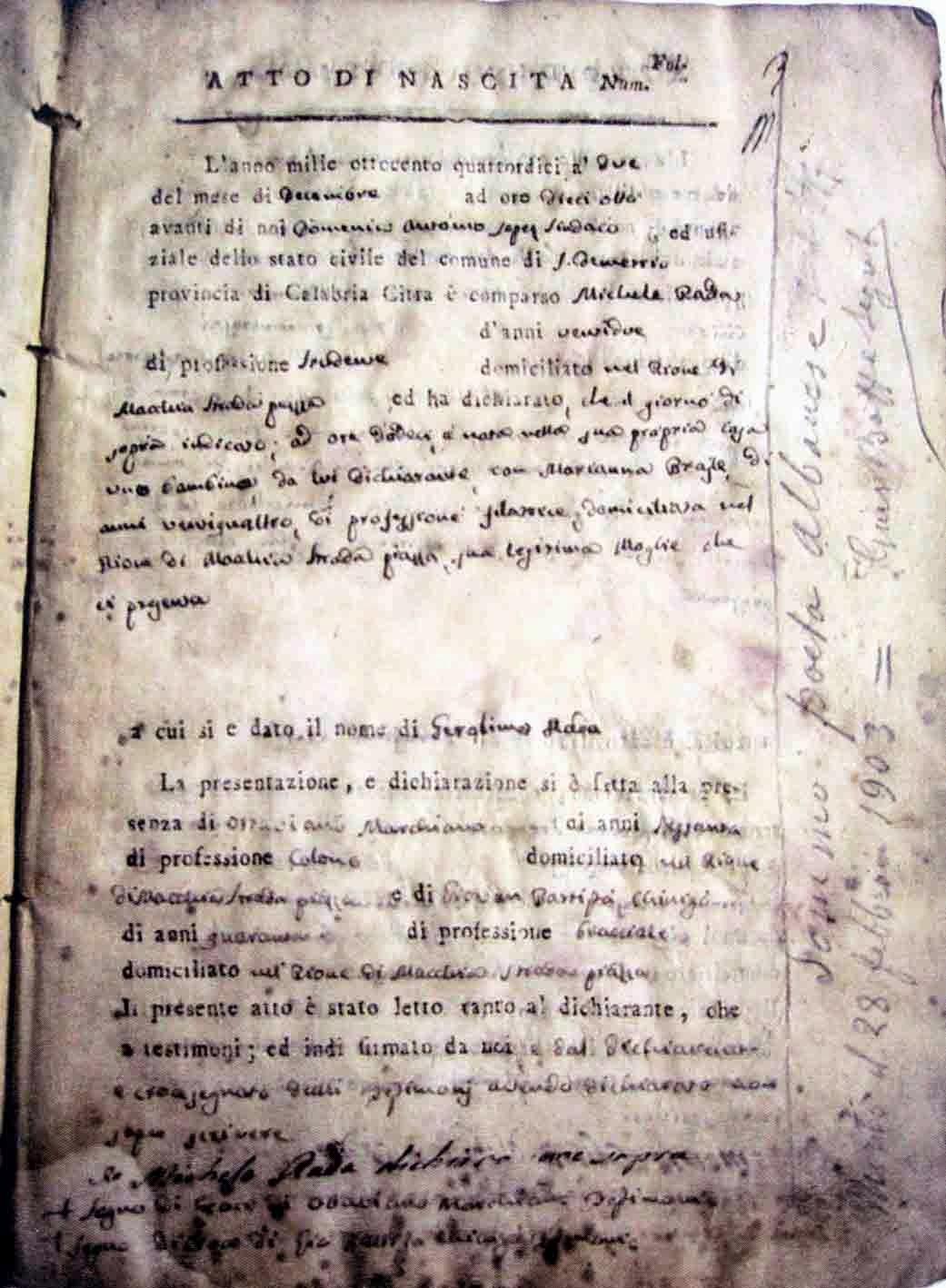 Tekst te Jeronim De Rades te korigjuar me doren e tij