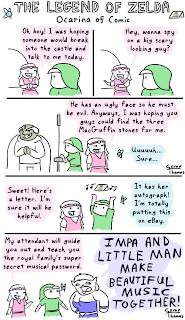zelda comic Evening LOL   Ocarina of Comic