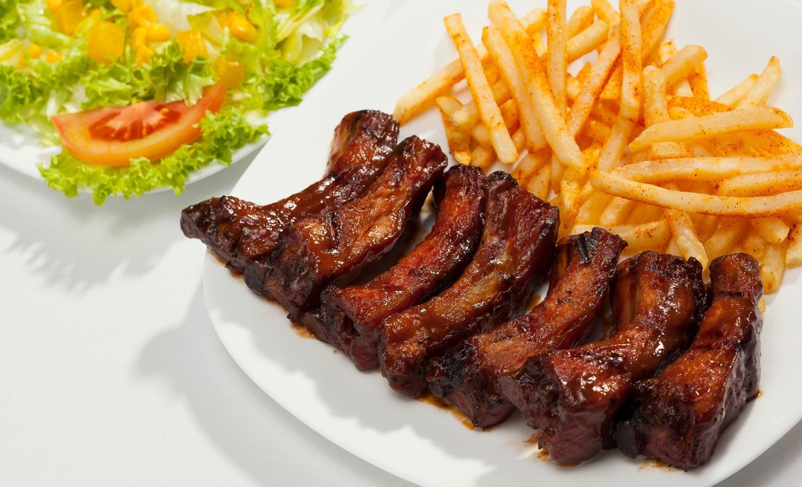 Una casita con sabor costillitas a la bbq sin hornear for La casa del barbecue