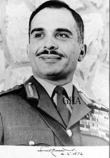 Hussein bin Talal, roi de Jordanie 1935-1999