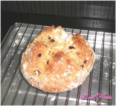 Resepi Roti Soda Irish Mudah Sangat. Irish Soda Bread. Cara Buat Roti Soda Irish Sedap Senang Simple.