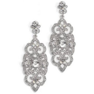 big wedding earrings