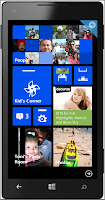 My personalised Windows Phone 8