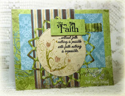 Our Daily Bread designs Flowering Faith Designer Dawn Lusk
