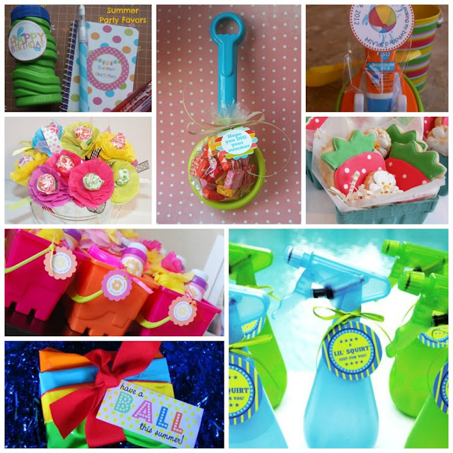 Summer Party Favors