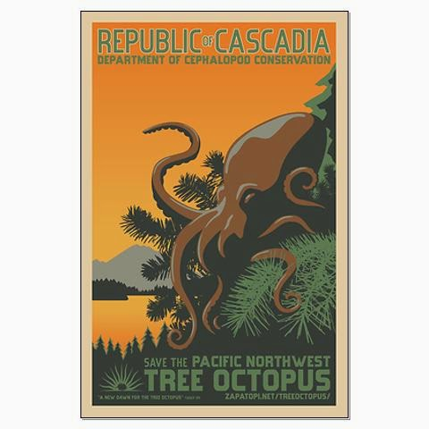 Help Save the Endangered Pacific Northwest Tree Octopus!
