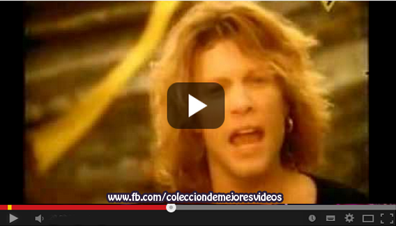 Vídeo Musical, Bon Jovi, Como yo Nadie te ha Amado