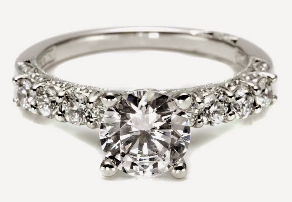 Tacori Round Diamond Wedding Rings for Her Model pictures hd