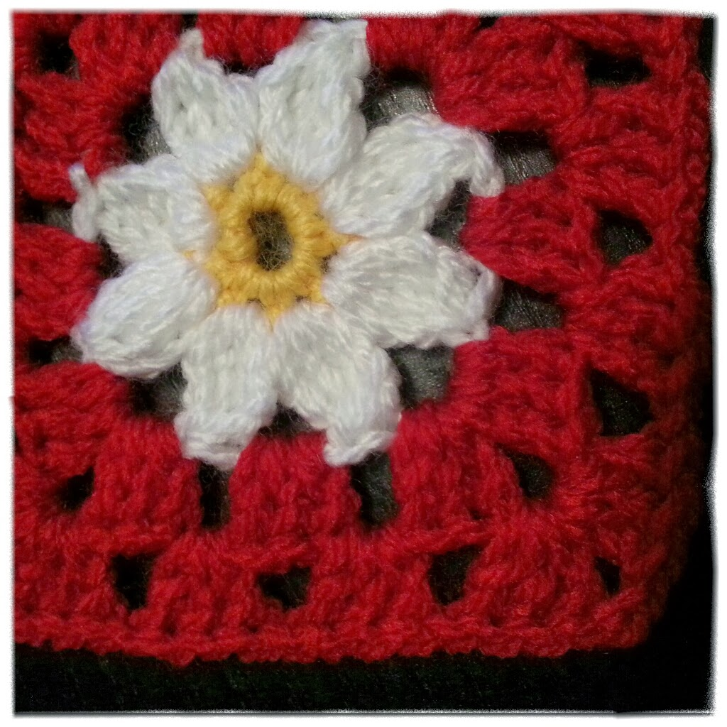 free pattern daisy granny square
