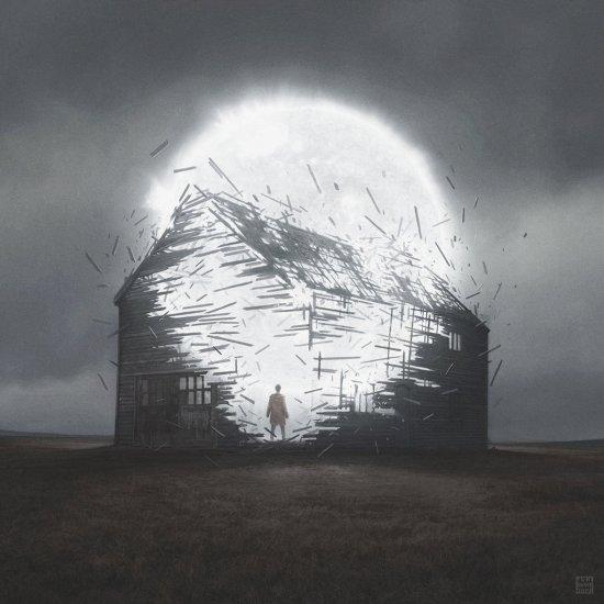 Yuri Shwedoff deviantart ilustrações ficção científica sombrios mundos pós-apocalípticos melancolia solidão
