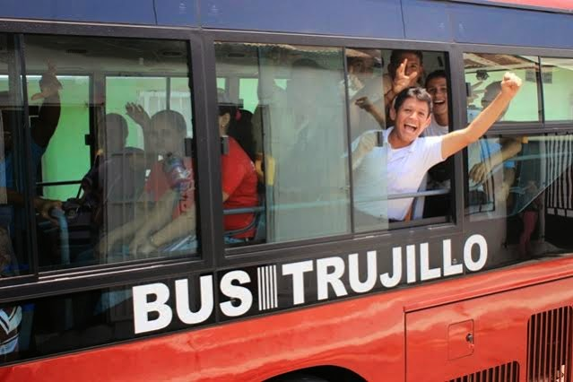 Bus Trujillo, Normas de uso (VIDEO)