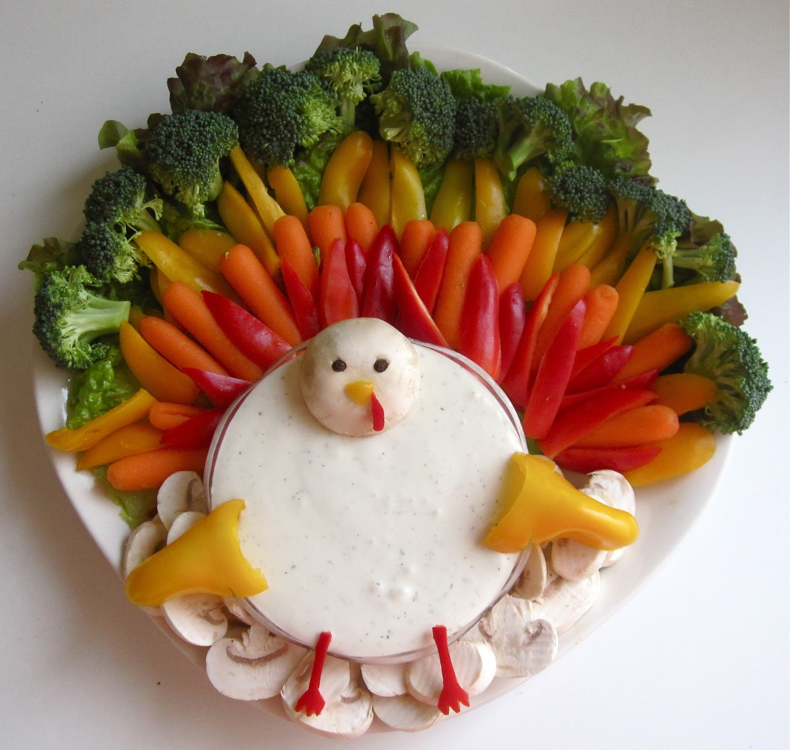 how to make a fruit platter for thanksgiving