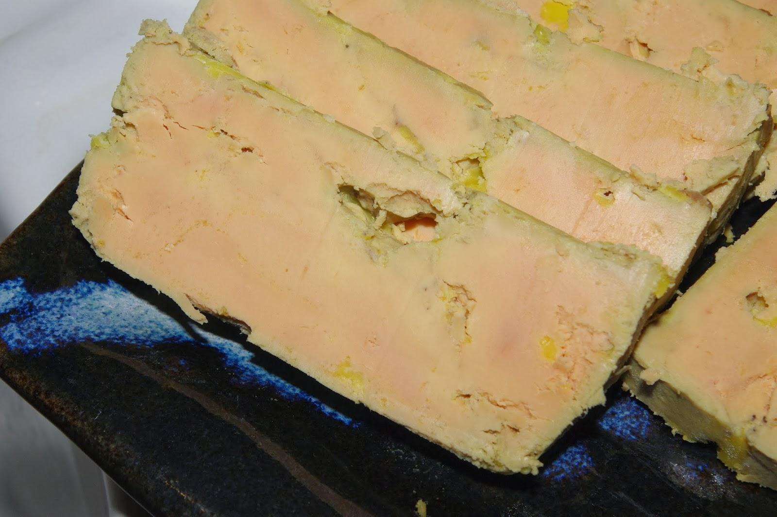 Saveurs cr ation foie gras maison marin au macvin du jura - Cuisiner un foie gras cru ...