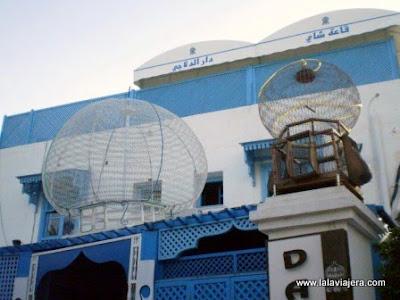 Jaulas Pajaros Sidi Bou Said, Tunez