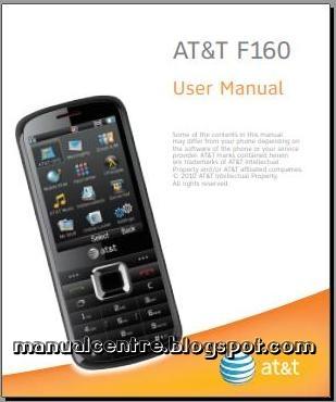 ZTE F160 Manual Cover