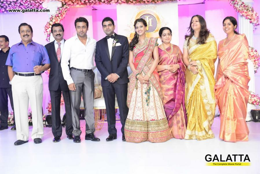 realsuryafans surya amp jyothika prince jewellery wedding