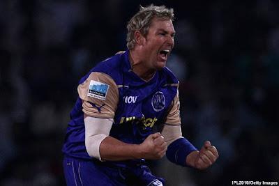 Live Cricket Scores, Fastest Scorecard, Match Report, Live Score Cricket, IPL 2011 Match Report, Live Match Score, IPL Season 4, IPL, Rajasthan Royals, Shane Watson, Shane Warne