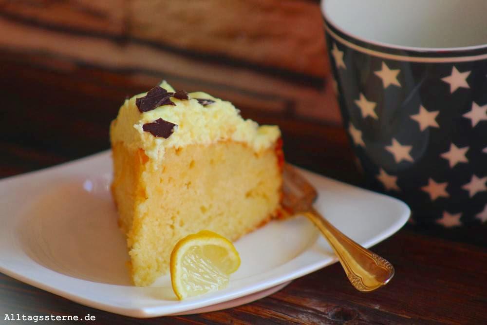 Zitronenkuchen zu Wienerbrøds Bloggeburtstagskaffeeklatsch von Alltagssterne [wienerbroed.com]